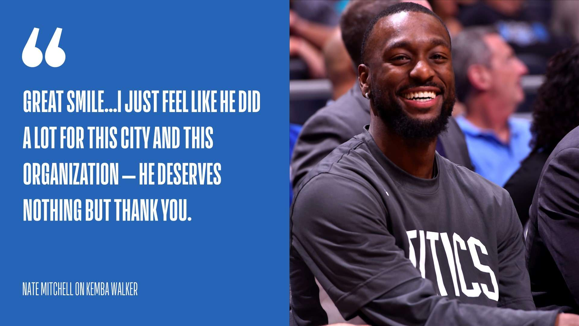 As Kemba Walker makes his return to Charlotte, the city ...