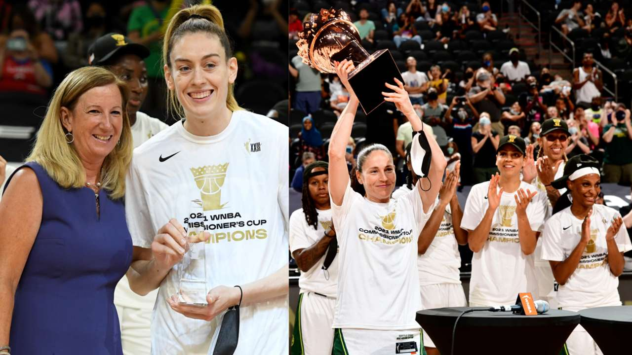 Breanna Stewart named MVP as Seattle Storm dominate in first-ever Commissioner's Cup