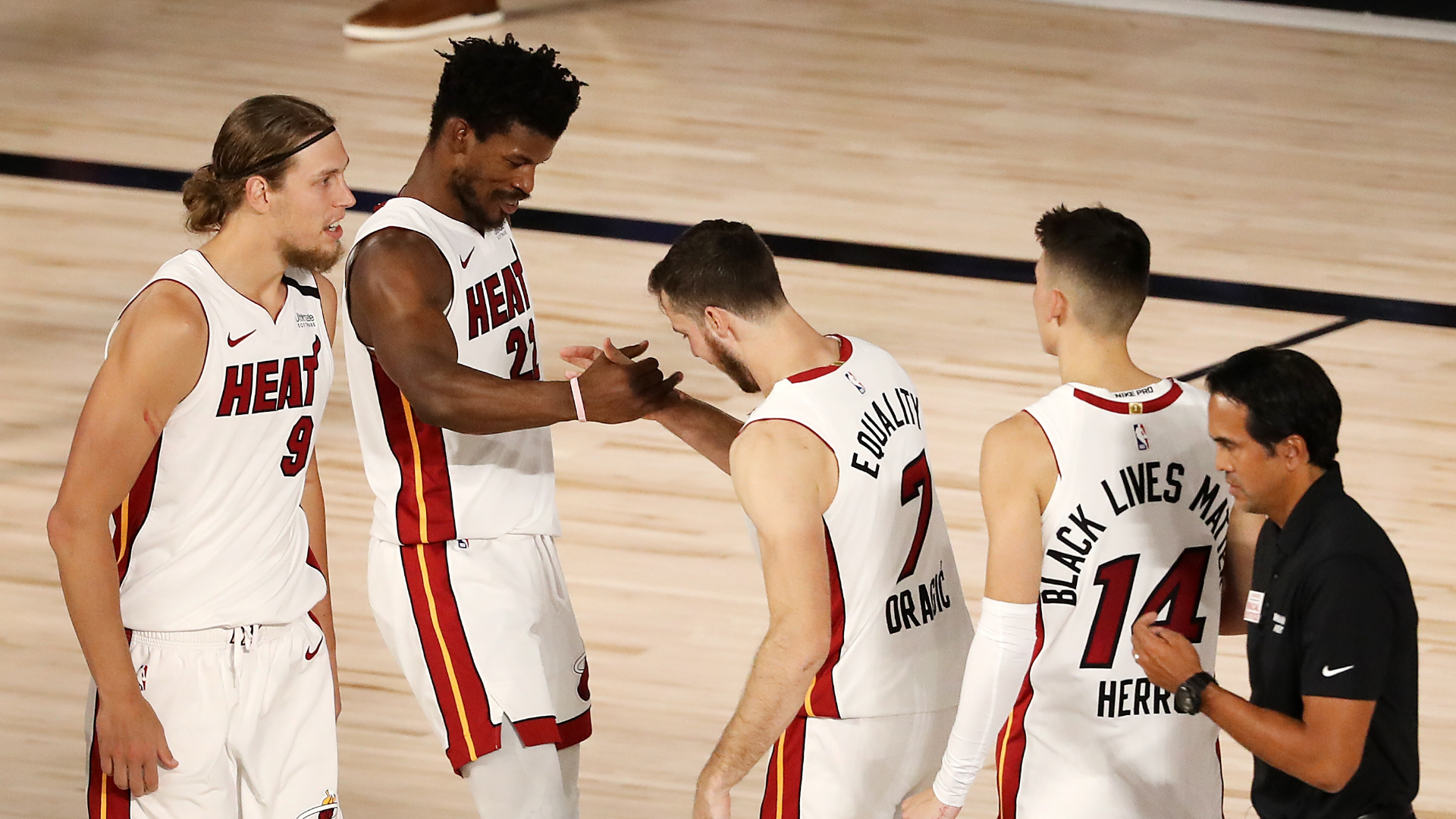 NBA Playoffs 2020: Miami Heat survive late scare against ...