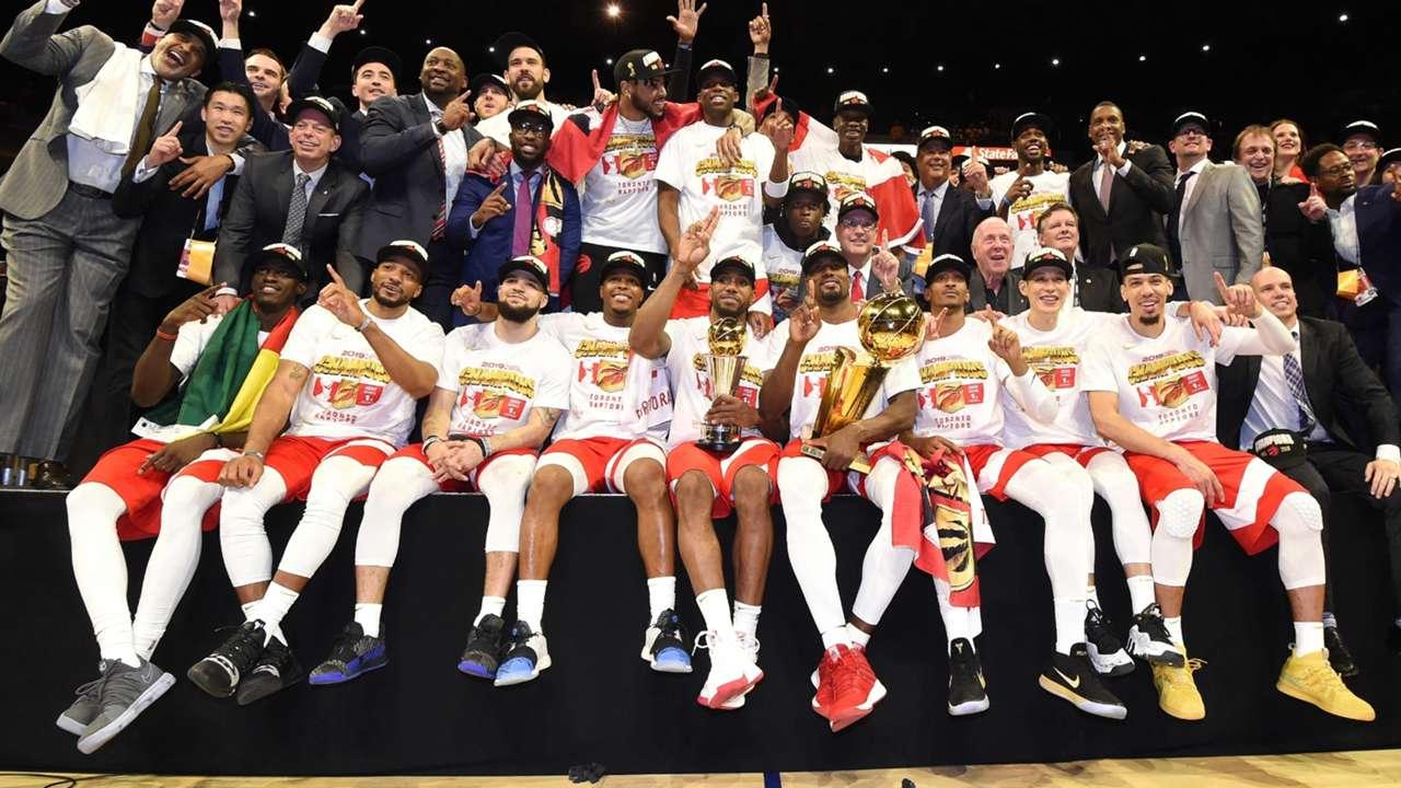 2019 NBA Champions - the Toronto Raptors