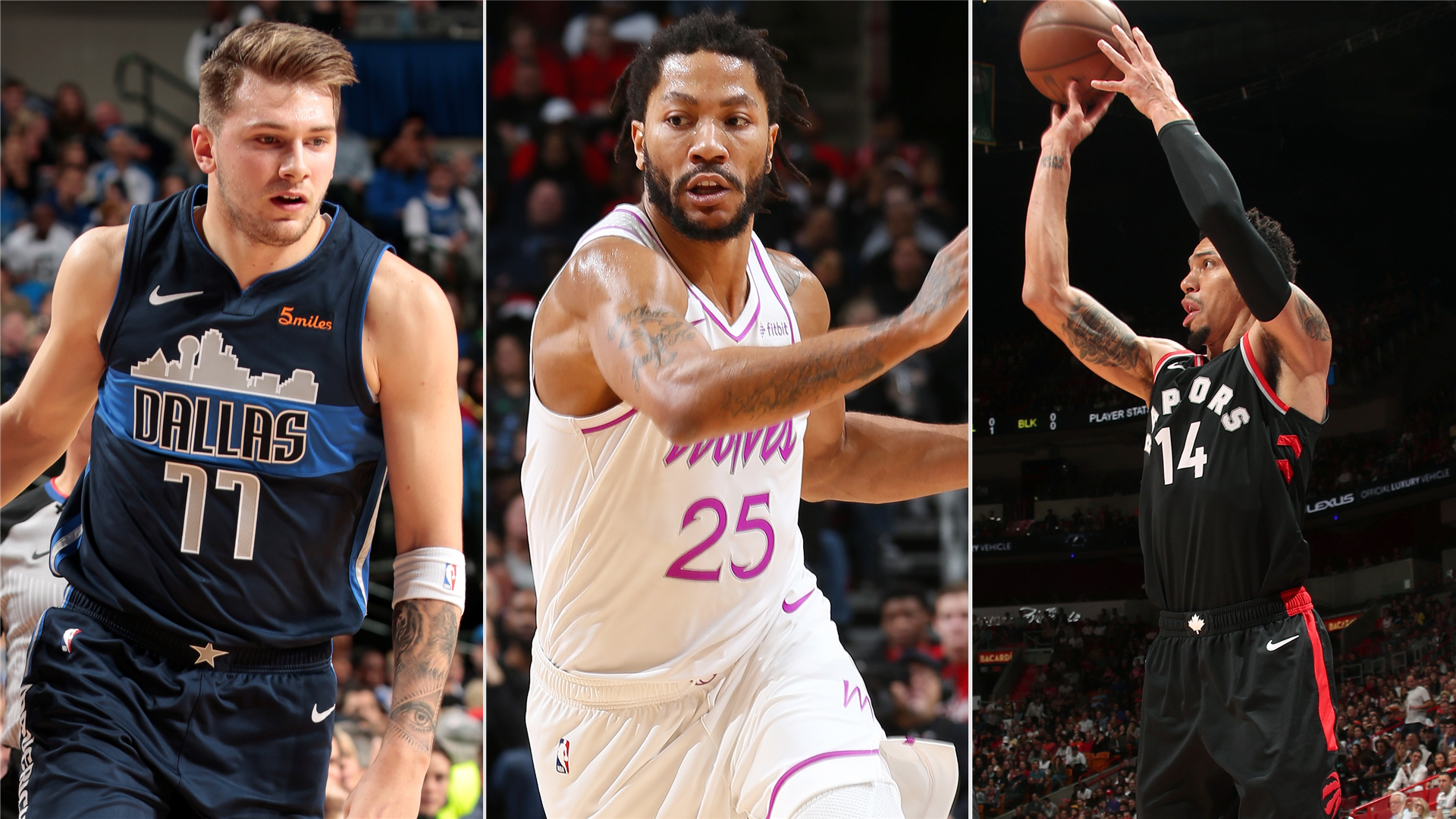 Nba Scores And Highlights Doncic Leads Mavericks Past Pelicans D Rose Gets Mvp Chants Danny Green Hits Game Winner Nba Com India The Official Site Of The Nba
