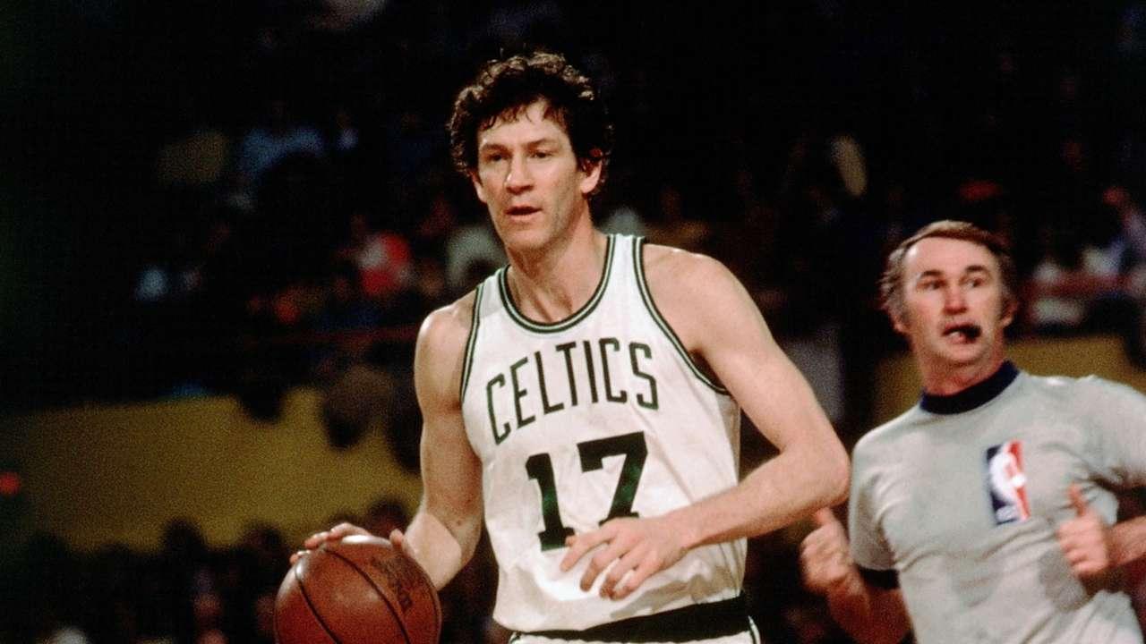 Boston Celtics legend John Havlicek
