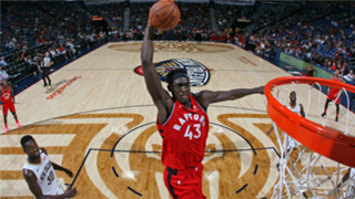 Pascal Siakam is soaring to new heights this season