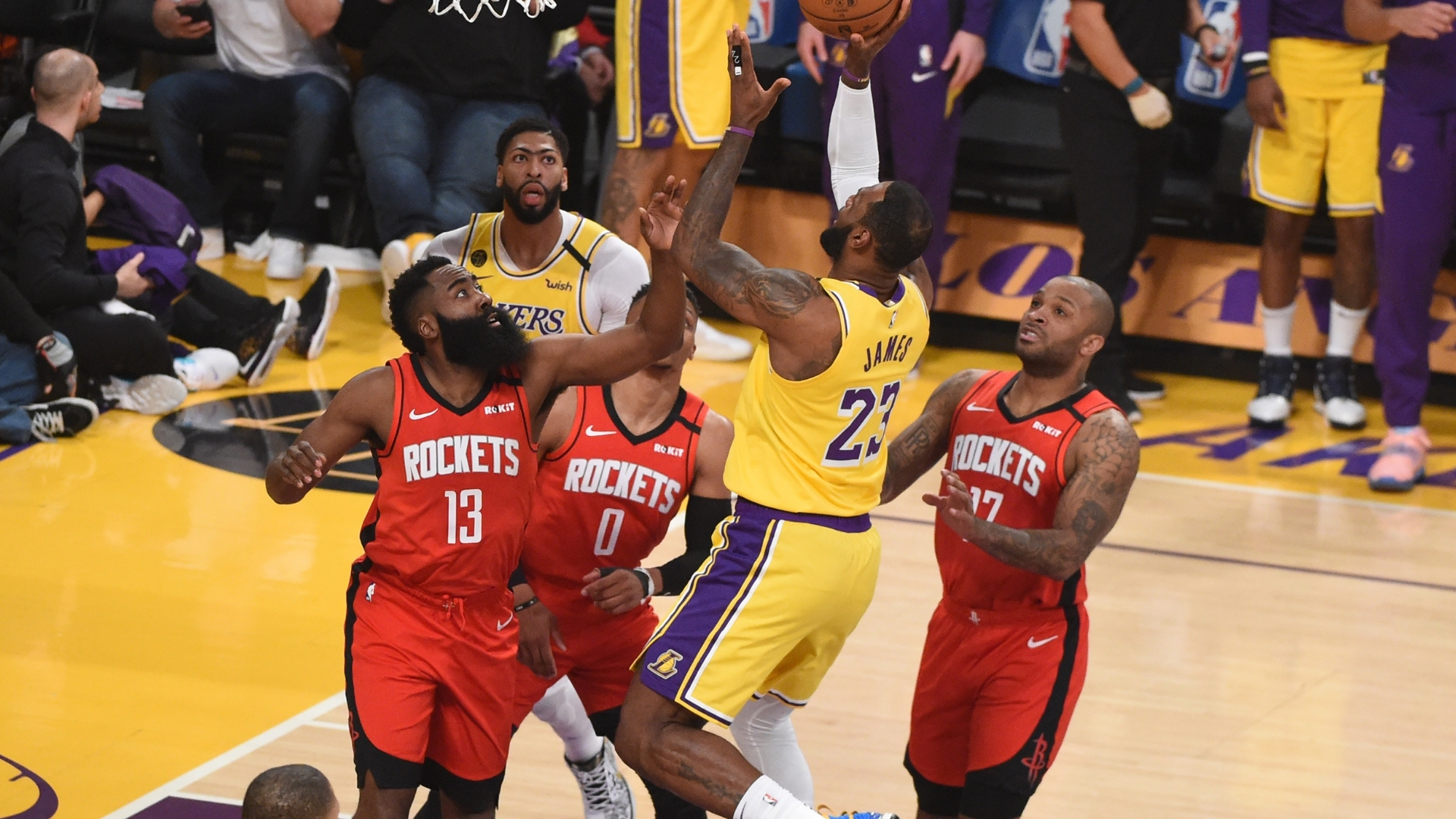 NBA Playoffs 2020: Los Angeles Lakers vs. Houston Rockets ...