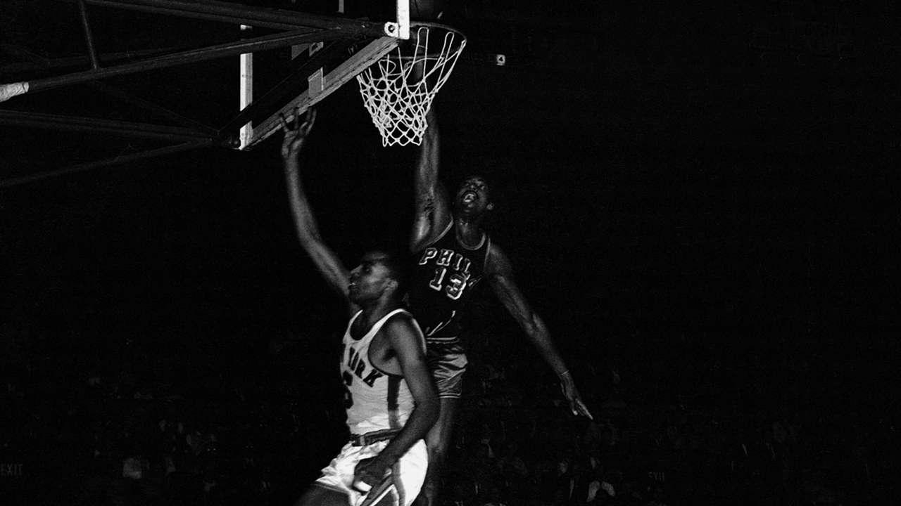 Wilt Chamberlain vs. New York Knicks