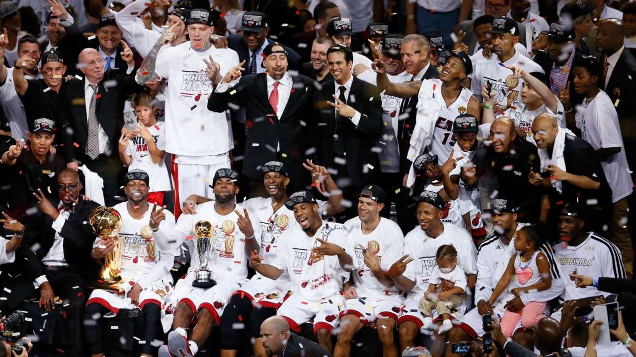 2013 NBA Champions - Miami Heat