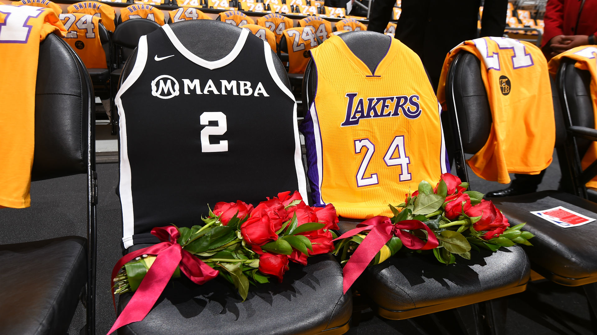 A Celebration Of Life Kobe And Gianna Bryant Nba Com India The Official Site Of The Nba
