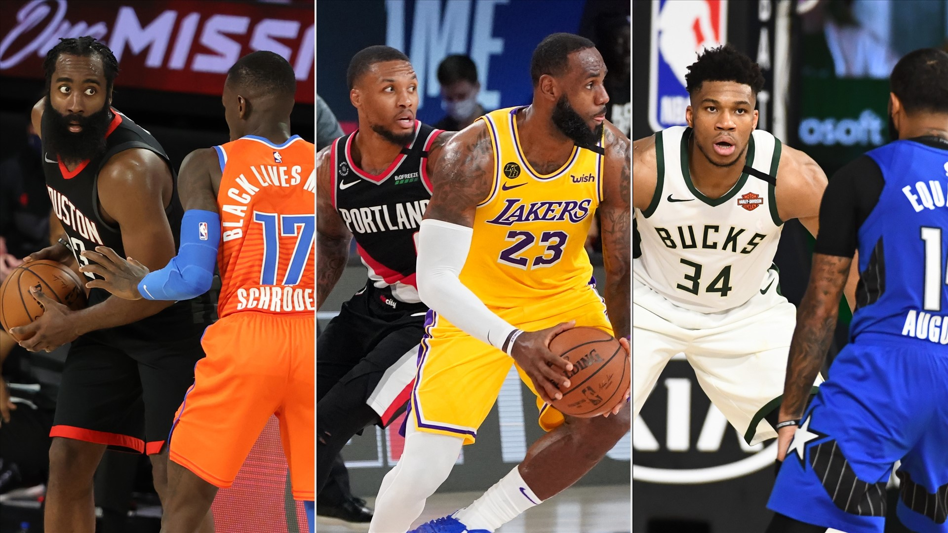 NBA Playoffs 2020: Previewing the four-game slate on deck ...