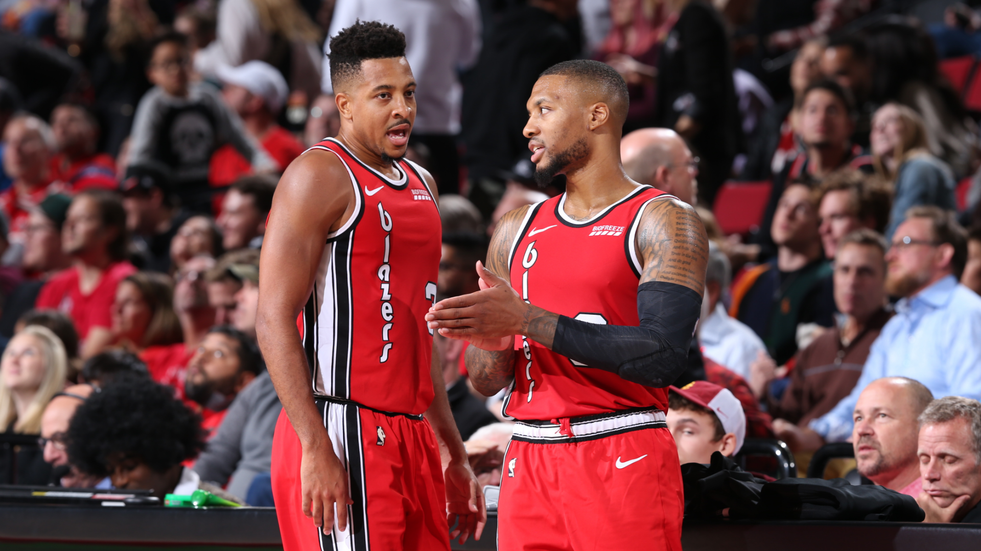 CJ McCollum and Damian Lillard