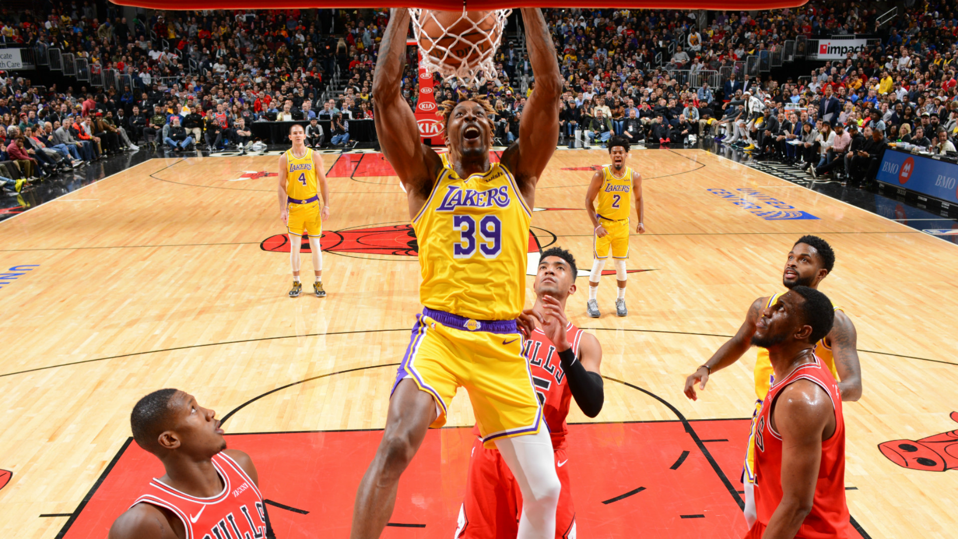 Nba All Star Game 2020 Los Angeles Lakers Centre Dwight