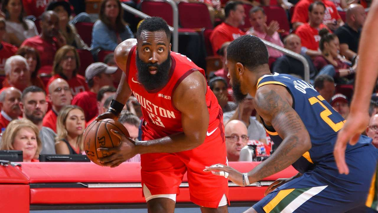 James Harden and Royce O'Neale