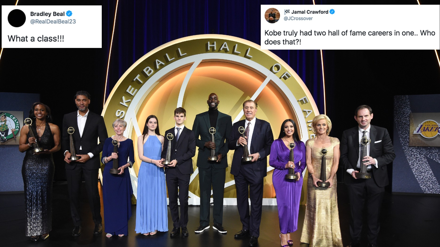 NBA family take to <b>Twitter</b> to congratulate Hall of Fame Class of 2020 thumbnail