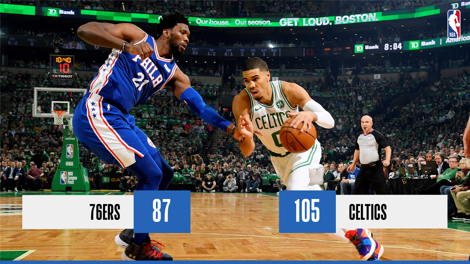 Sixers vs Celtics