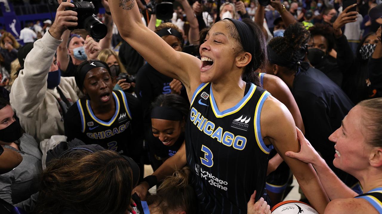 Candace Parker (Chicago Sky) WNBA Finals