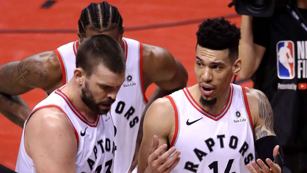 The Raptors led by six with under 3:00 left in Game 5.