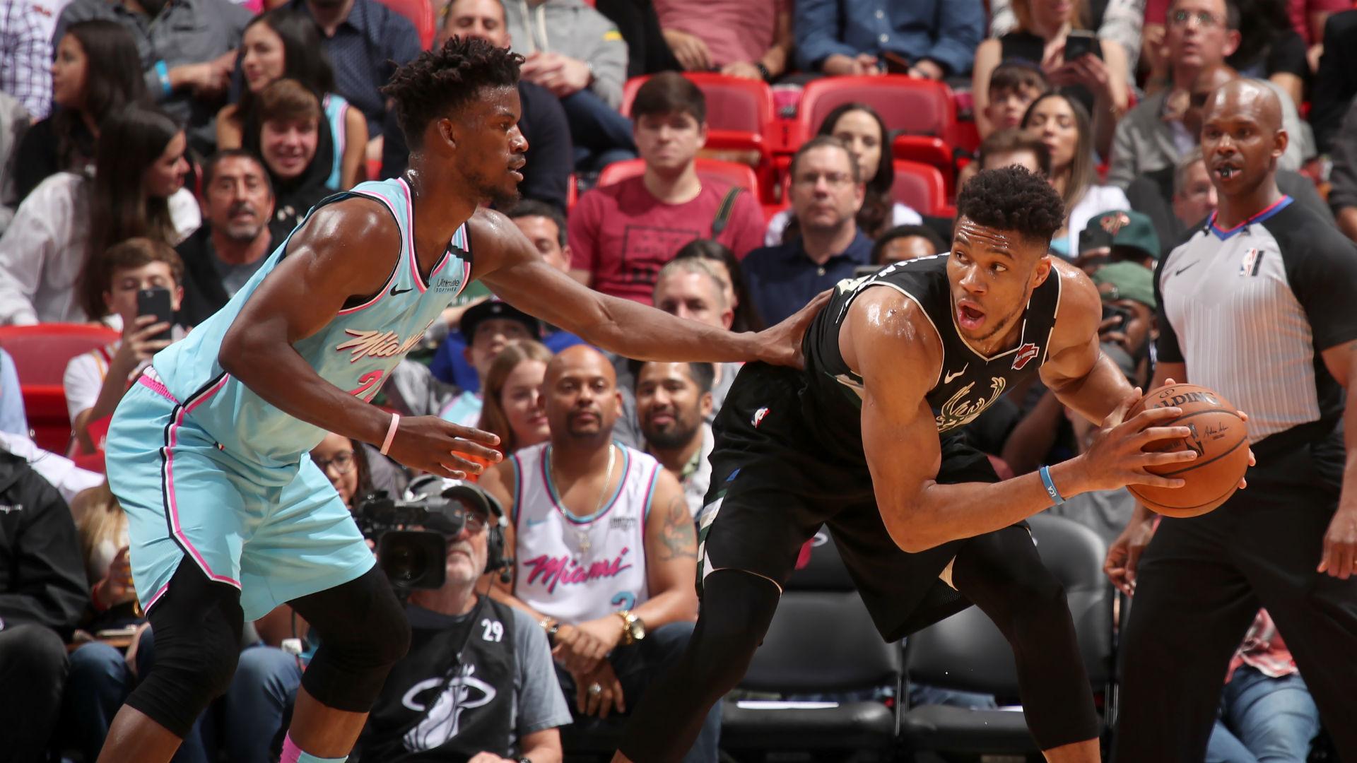 NBA Playoffs 2020: Miami Heat vs. Milwaukee Bucks series ...