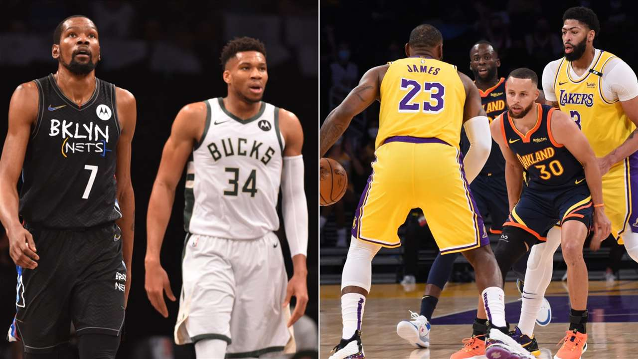 Opening Night of the 2021-22 NBA season features star-studded matchups between the Nets-Bucks and Lakers-Warriors