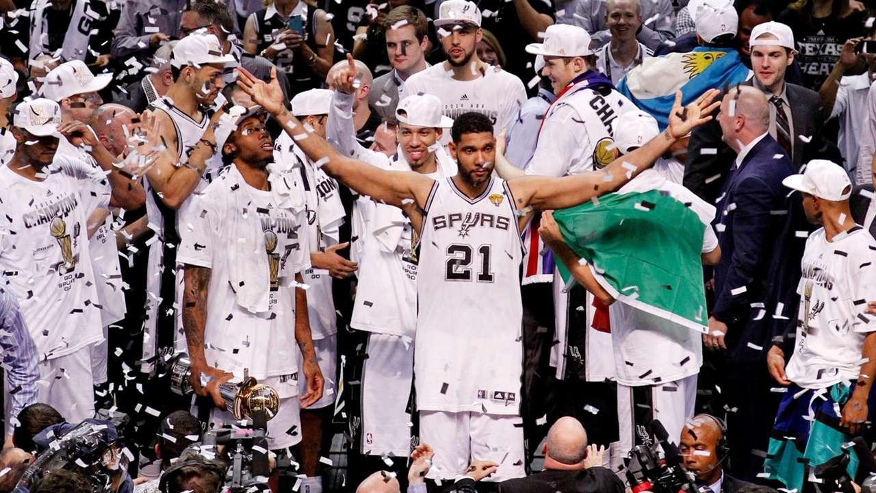 2014 NBA Champions - San Antonio Spurs