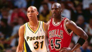 Michael Jordan returns to the NBA vs. Indiana Pacers in 1995