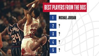 Who are the best players from the 1990s?