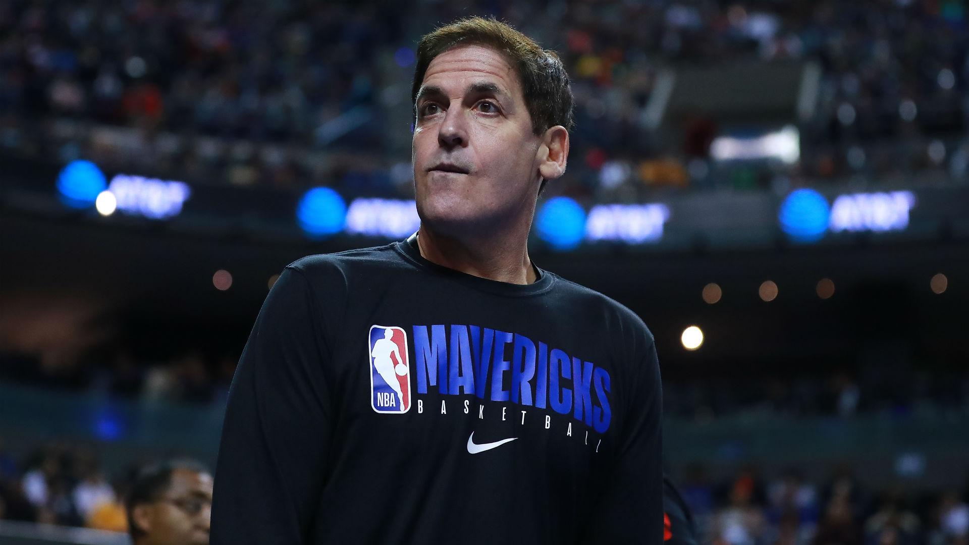 Dallas Mavericks owner Mark Cuban speaks on suspension of ...