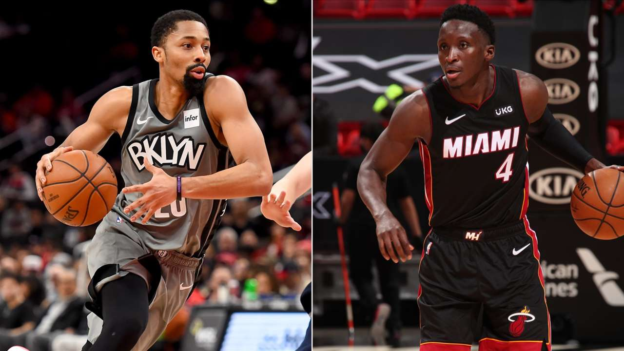 Spencer Dinwiddie is reportedly heading to the Washington Wizards while Victor Oladipo is returning to the Miami Heat