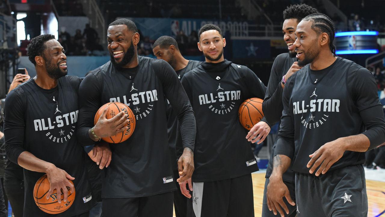 NBA All-Star Game 2019: Team LeBron vs