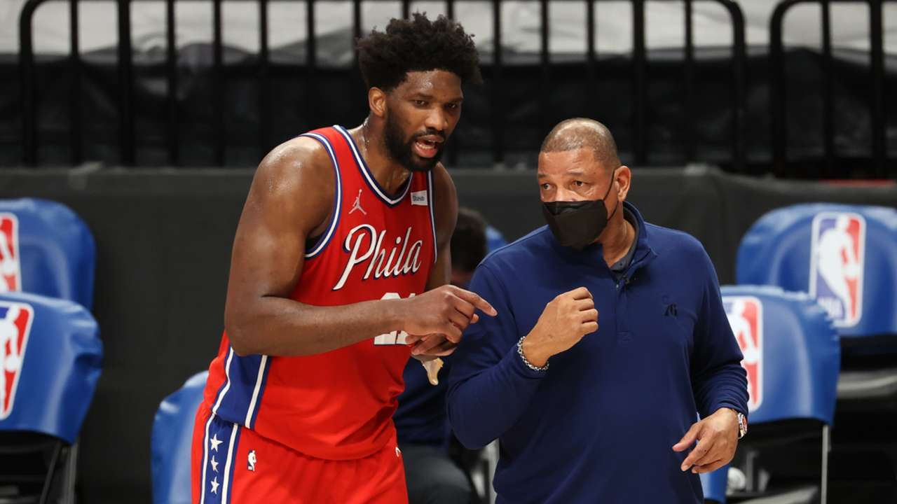 Joel Embiid, Doc Rivers, Philadelphia 76ers