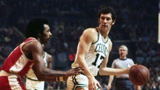John Havlicek vs. Atlanta Hawks in 1973