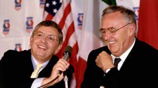David Stern and Borislav Stankovic