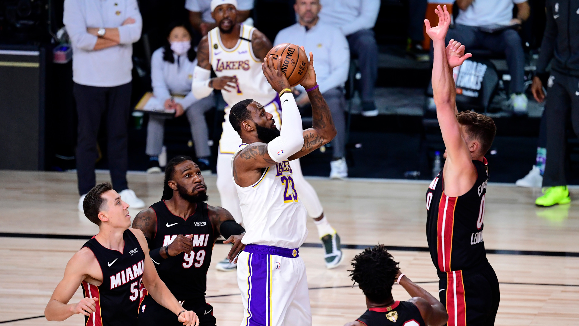 NBA Finals 2020: Los Angeles Lakers vs. Miami Heat Game 5 ...