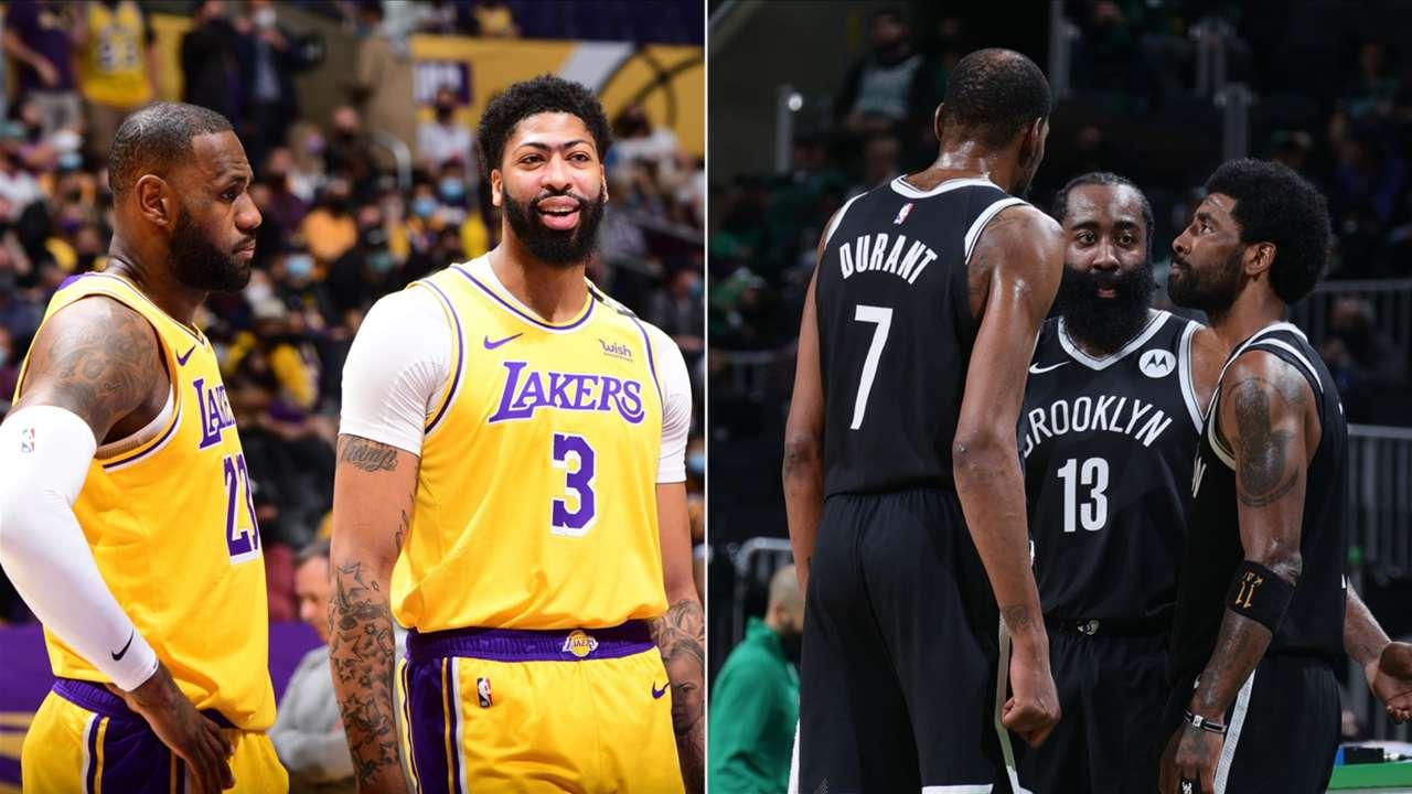 LeBron James, Anthony Davis (Los Angeles Lakers)