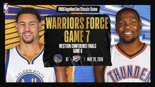 Warriors-Thunder Game 6 #NBATogetherLive