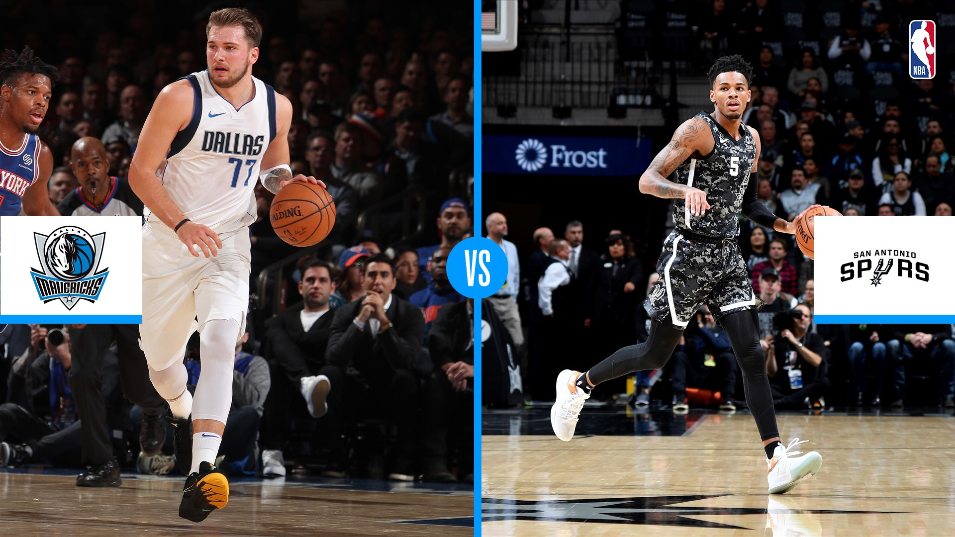 Dallas Mavericks y el mago Luka Doncic reciben a San Antonio Spurs - NBA ES