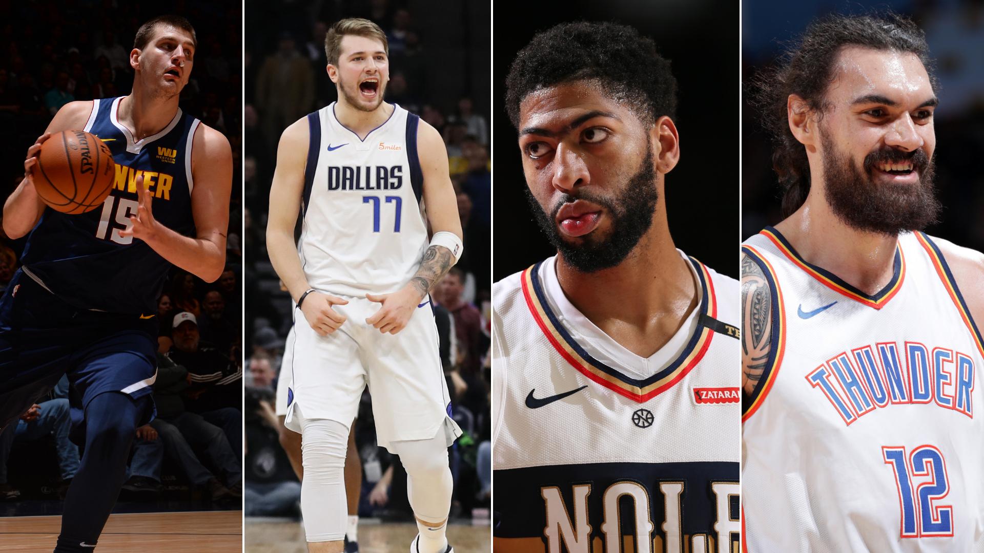 Jokic, Doncic, Davis y Adams, aspiran a ser suplentes en el All Star de la NBA 2019