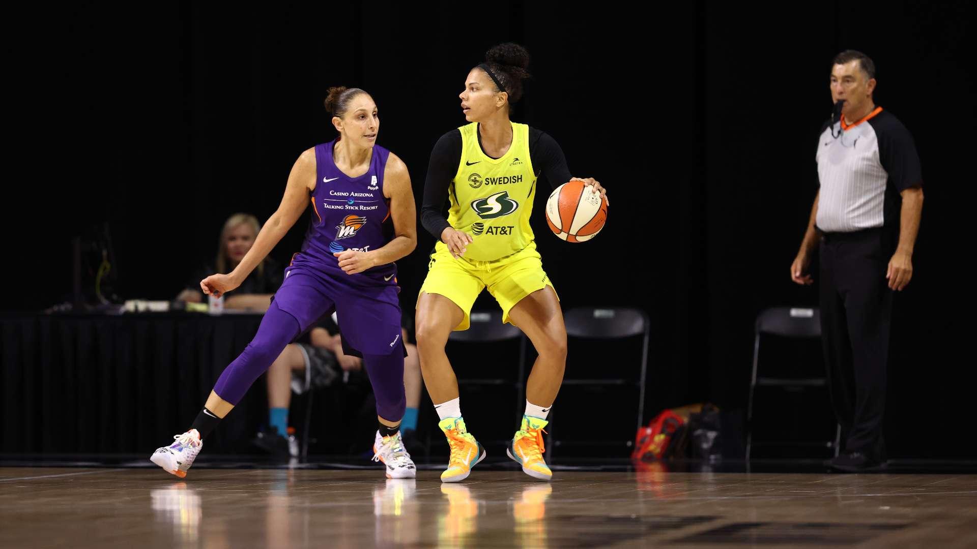 El repaso de la segunda semana de la temporada 2020 de la WNBA   NBA.com México   El sitio oficial de la NBA