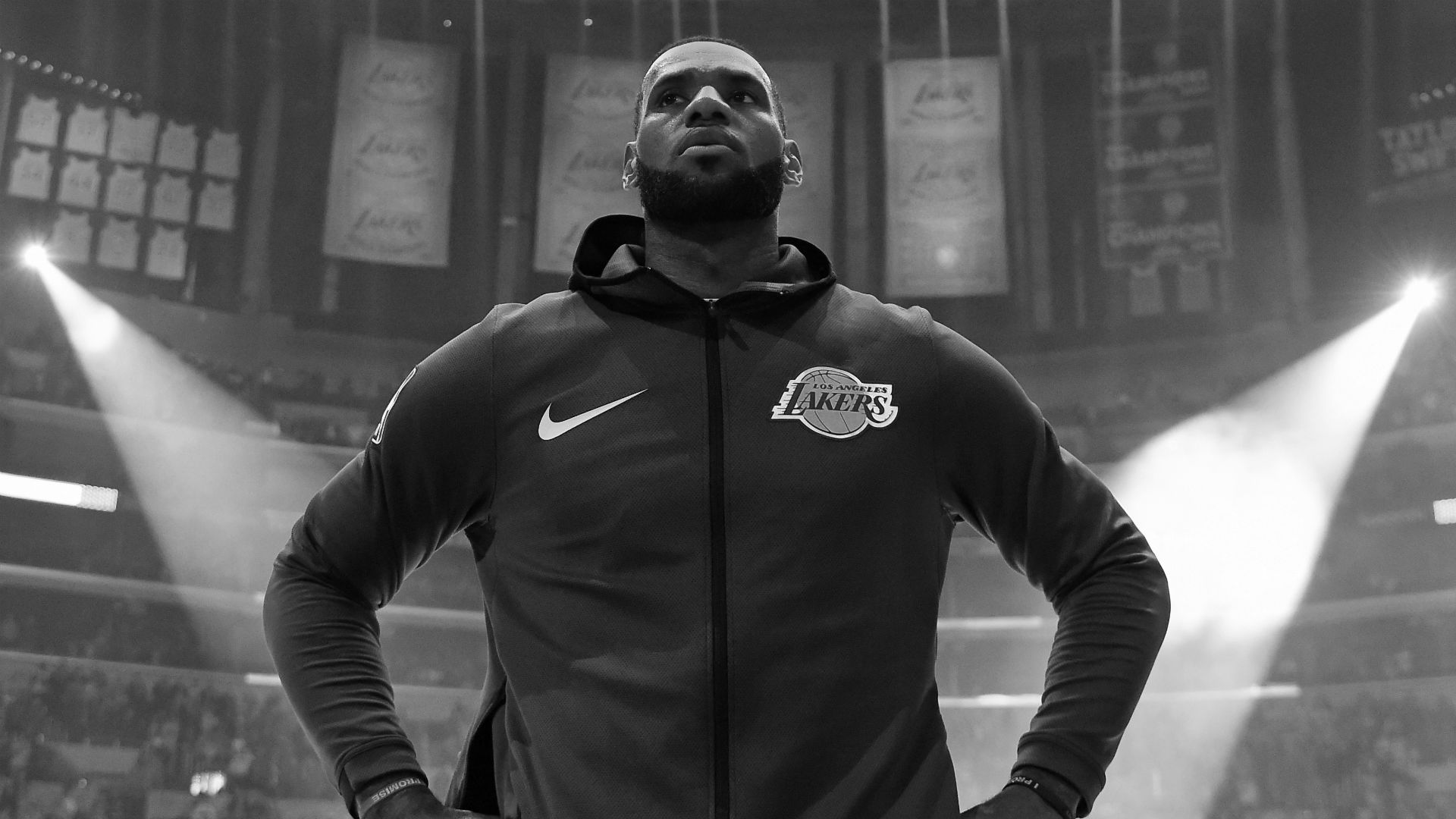 All eyes will be on LeBron James as he enters his second season with the Los Angeles Lakers.