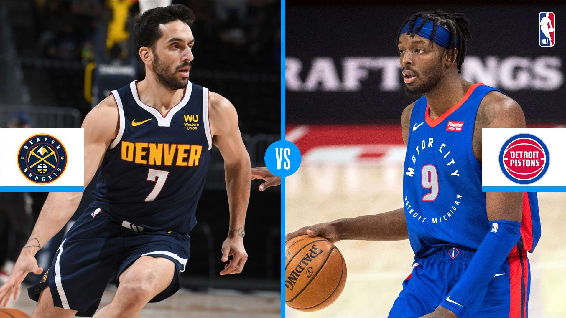 Denver Nuggets vs. Detroit Pistons: tres historias a seguir de otro duelo  para consolidar el rendimiento | NBA.com Argentina | El sitio oficial de la  NBA