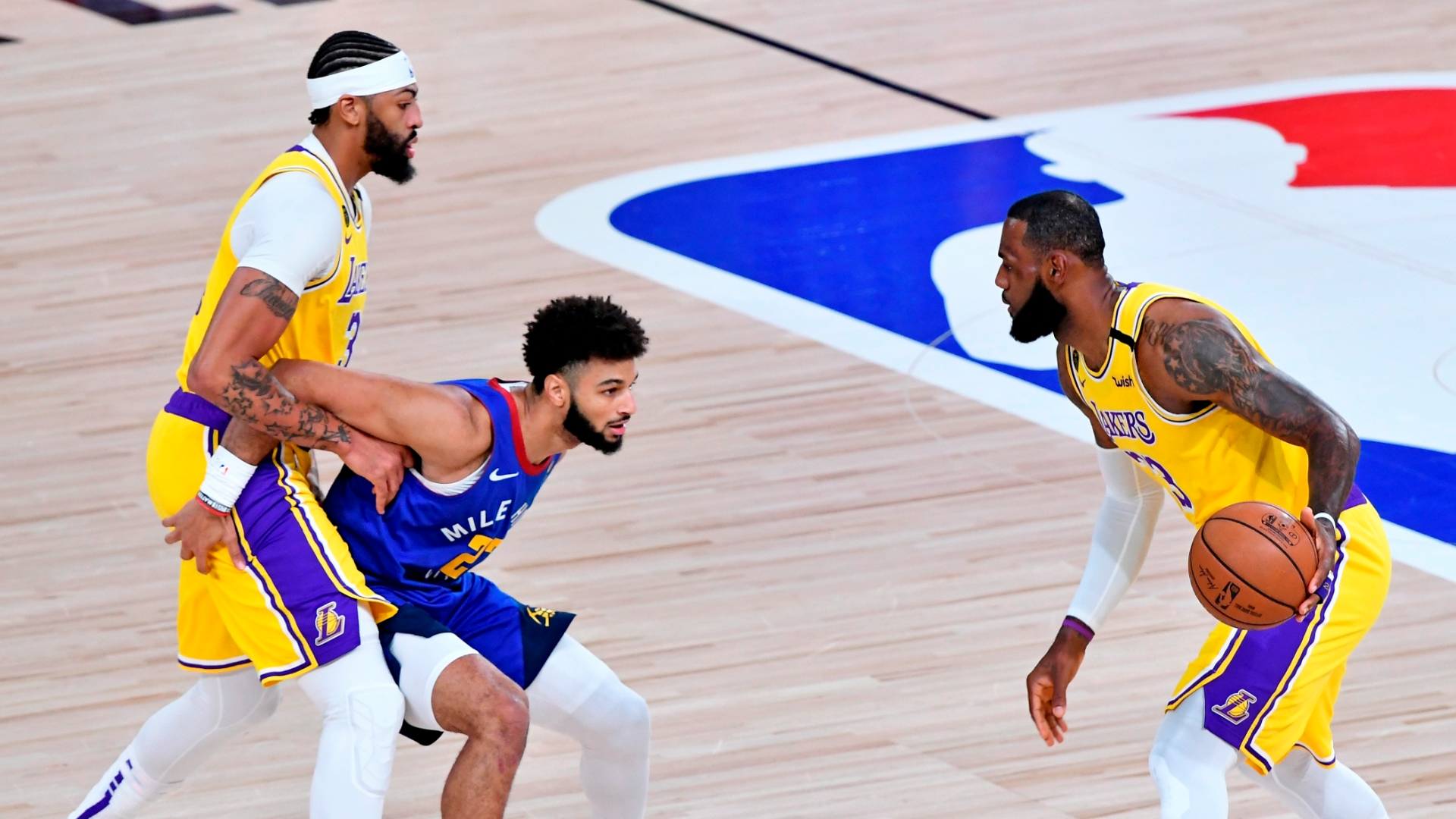NBA Playoffs 2020: Eight observations as Lakers dominate and cruise to  comfortable Game 1 win over Nuggets | NBA.com Australia | The official site  of the NBA