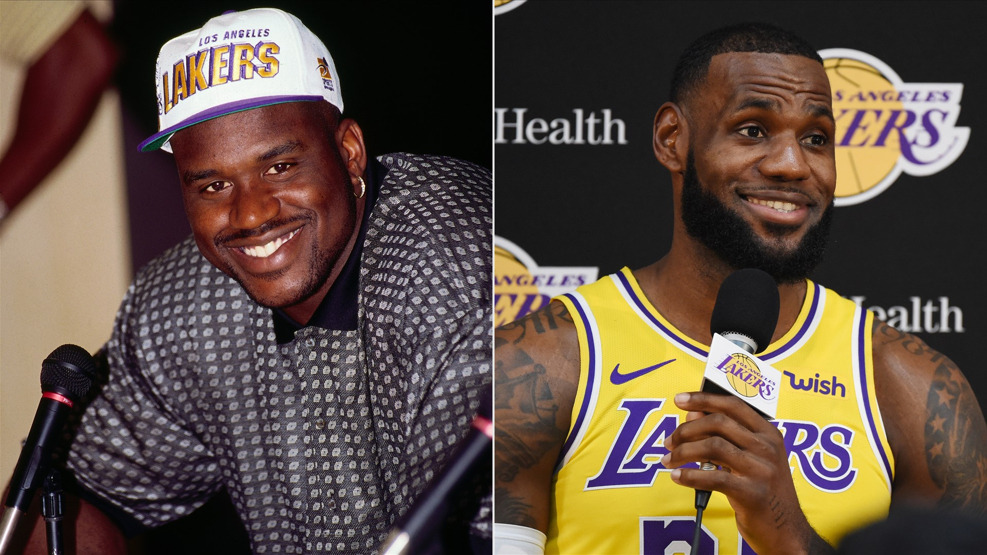 lebron-james-shaquille-oneal-nbae-gettyimages