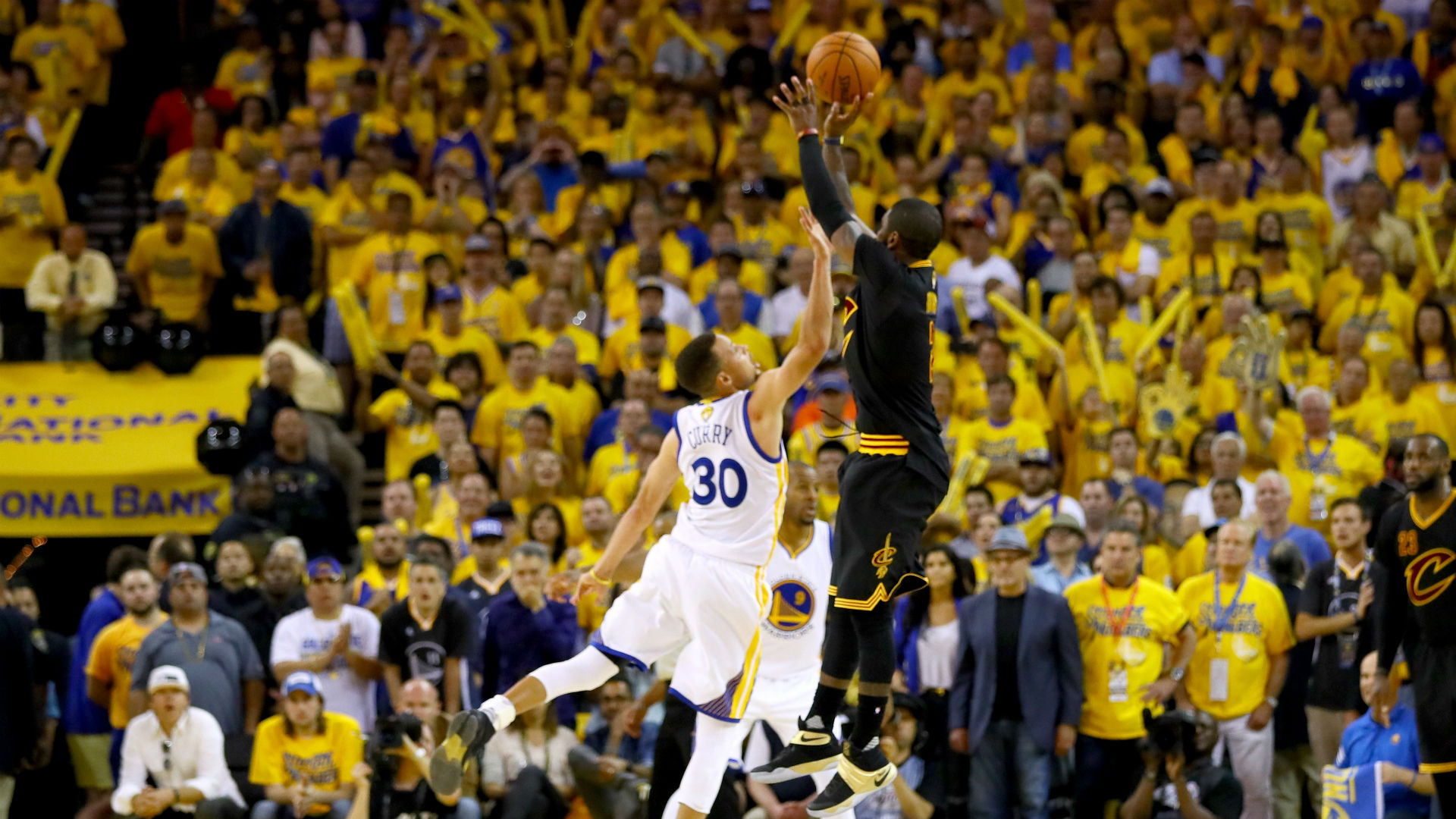 Kyrie Irving Breaks Down 'The Shot' In Game 7 And Speaks