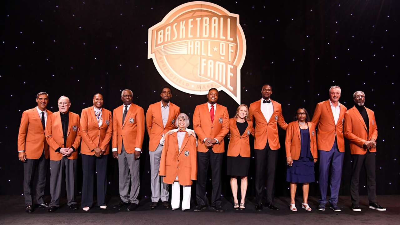The Hall of Fame class of 2021 have received their orange jackets on the eve of the ceremony.