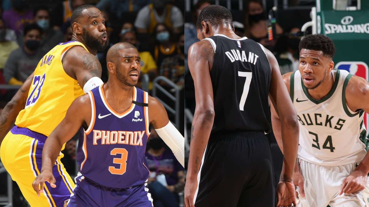 NBA.com staff discusses their wishlist for opening night like the Nets vs. Bucks and the Lakers vs. Suns