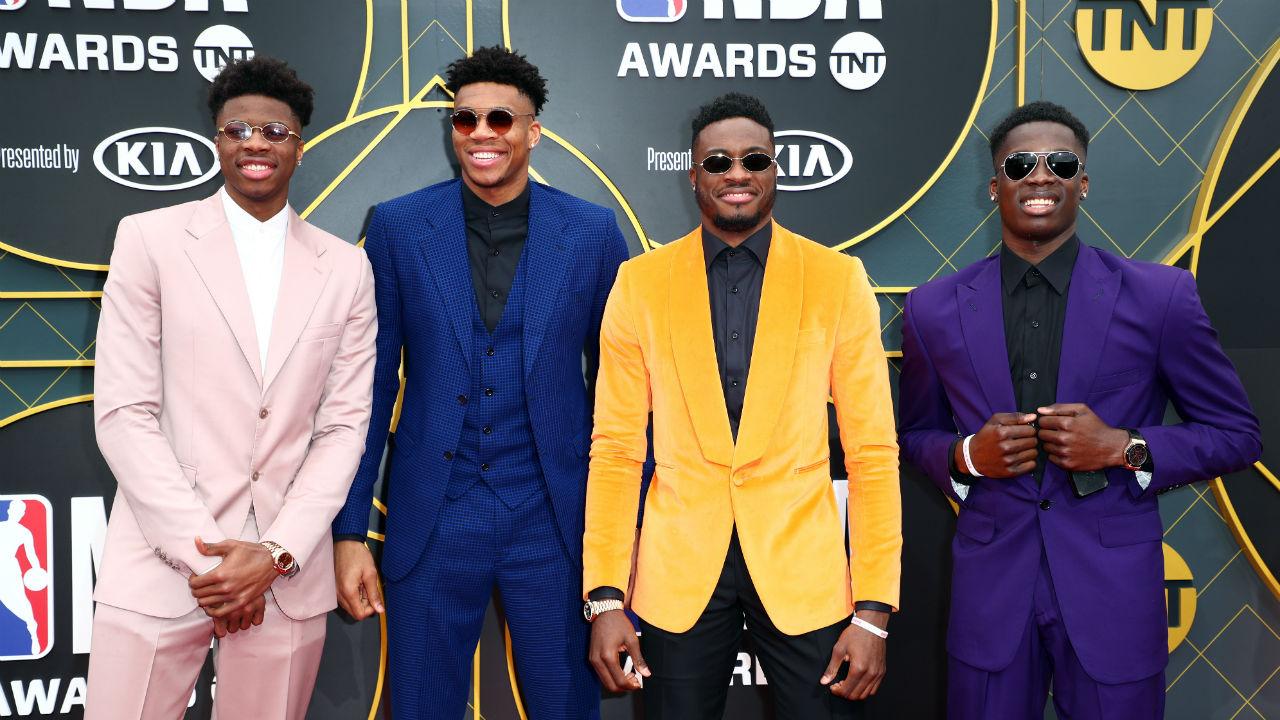 NBA Awards 2019: Giannis Antetokounmpo delivers emotional ...