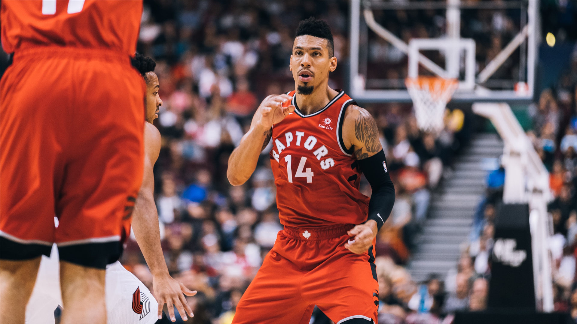 Danny Green Gives The Toronto Raptors A Huge Boost Defensively Nba Com Canada The Official Site Of The Nba
