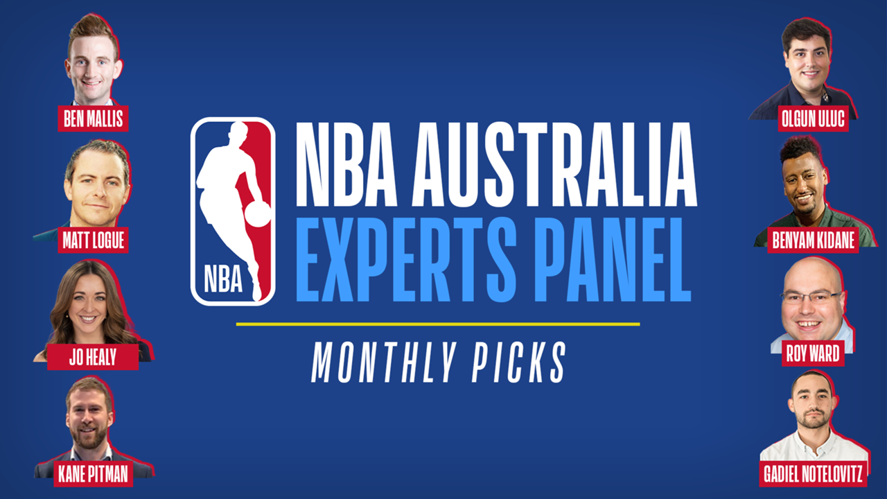 #NBAExpertsMonthly