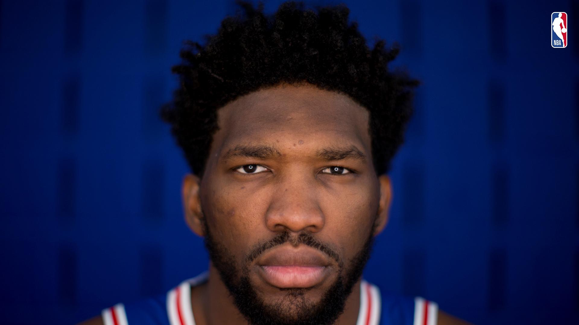 Joel Embiid, jugador de los Sixers