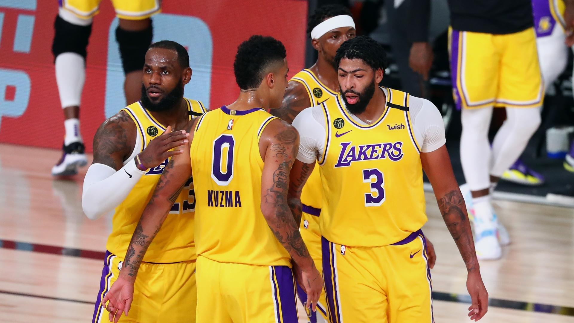 NBA Playoffs 2020: Anthony Davis dominates as Los Angeles ...