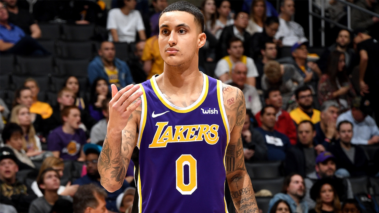 Kyle Kuzma had 41 points without taking the court in the fourth quarter.