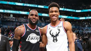 LeBron James and Giannis Antetokounmpo were captains for this year's All-Star Game